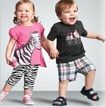 New Arrival children clothing sets,2pcs designs.Summer