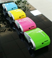 Different color Cheap Price smart Chirstmas projector mini professional cinema projector