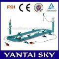 Cielo fs1, Pendiente de colisión de coches banco de reparación y marco de la máquina gato hidráulico de botella de reparación