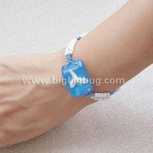 OEM wholesale link bracelet jewelry of amber