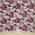 alta qualidade do poliéster têxteis africano tecido jacquard de chenille para o sofá e cortina