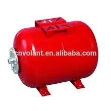 installation a pressure tank