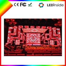 Sunrise Indoor flexible led mesh screen net curtain video led display for nightclub decor
