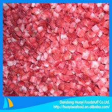 High quality new crop strawberry dices on sale