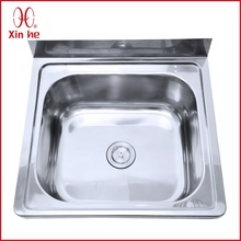 SUS304 wallmounted stainless steel sink hand wash