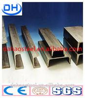 channel steel american standard/ channel iron/steel channel for construction use
