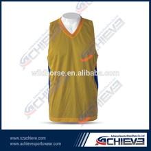 High quality Basketball Team Wear latest Jersey Basketball Uniform design