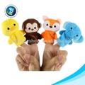 Superventas mono de peluche dedo marioneta
