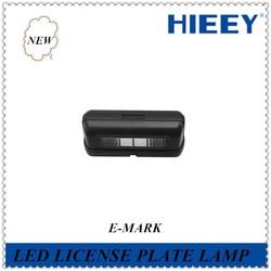 Car Make led number plate lamp IP67 license plate light led trailer license plate light