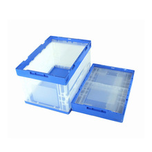 Stackable and foldable plastic shortage crate food use PP material box