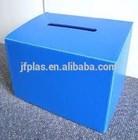 PP Correx boxes / Folding corflute plastic storage box