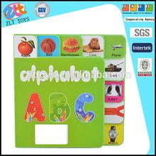 Engraçado crianças livro de eva, os números e as letras iniciais do livro de educação para bebe