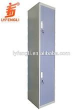 Powder Coating 2 Door Blue Color Mini Steel Safe Box
