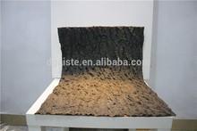 Home interior decor 60cm*60cm or 1.97ft*1.97ft artificial fake synthetic tree bark ESP12 09B