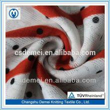 egyptian cotton fabric stripe lace knitting jacquard fabric printed curtain