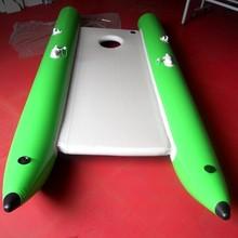 Portátil de tres cámaras de multi- función inflable barco barco de rescate yate de motor para la venta