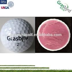 2 pc hot sale urethane hard foam golf ball for club head