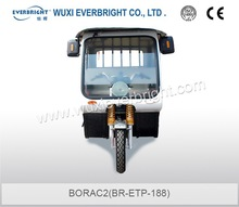 classic low electric and conveniently tricycle for passengers