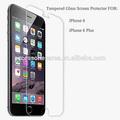 Atacado luxo 0.3mm hd tela de vidro protetor para o iphone 6 plus