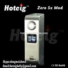 2014 new e-cig cheap e-cig zero modz 50w box mod with crazy selling