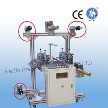 Automatic roll film laminator with 5 shafts
