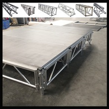 modular glass stage& mobile stage&aluminum portable stage mobile stage for sale