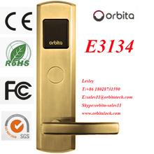 ORBITA 2012 New design motel key card door lock zinc lock body cylinders