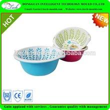 Christmas plastic basket for bulk plastic baskets and fruit storage and fruit picking basket