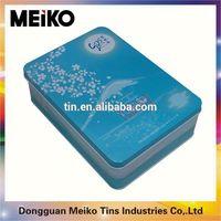 blank playing cards tin box
