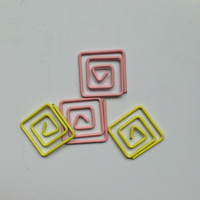 metal mini paper clips/lovely design paper clips