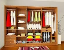 Cama roupeiro painel de alto brilho mdf mobília do guarda-roupa