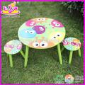 طاولة خشبية كرسي جديد وشعبي، حديث الأطفال وكرسي طاولة الطعام مجموعة اللعب، الاطفال في الهواء الطلق طاولة خشبية وكرسي w08g039
