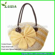 LUDA Shopping Paper String Crochet Bag For Women