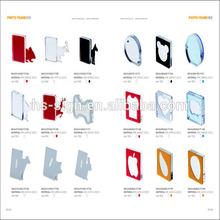 Free Style Acrylic Frameless Photo Frame / Bulk picture frames