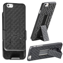 Holster Combo Case for iPhone 6 4.7 with Kick-stand & Belt Clip