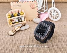 latest wrist watch tv mobile phone pw306II android smart watch wrist watch tv mobile phone