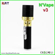 Dry herb burner or wax burner electronic cigarette metal electric hanging brass arabic incense burner pen lighter