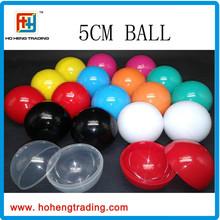 Vending machine ball capsule