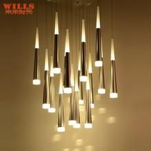 Hotsale european led pendant lighting for restaurant/bar/hotel