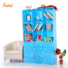 Simple diy plastic pp storage cabinet 5 layers 66 with room divided FH-AL0053-6