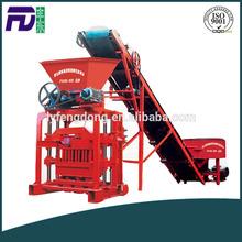 QTJ4-35B2 Manual colorful paving brick machine manufacturer price