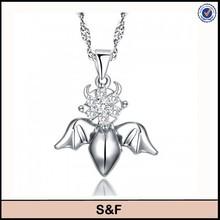Angel wings 925 sterling silver pendant silver price 925 per gram