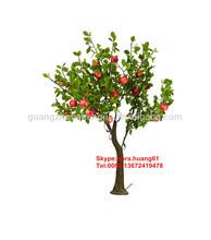 Sjh121417 bonsai fruit arbre artificielle fruits arbres à bas prix arbres artificiels
