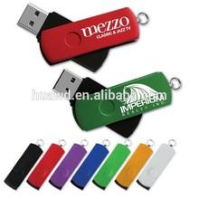 Bulk Cheap Price High Quality Fancy Silver Color Metal Swivel USB 32GB