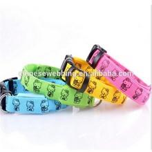 OEM cheap custom dog harness leather nylon dog collar and leads