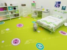 Professional Colorful kindergarten floor cartoon pictures