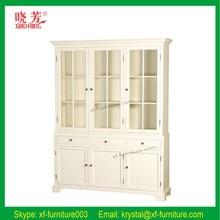 European style high-end good quality office furniture wood book shelf (RF076)