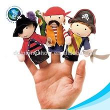 Plush cute pirates of the caribbean plush finger puppet