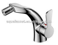 modern single handle brass chrome bidet faucet