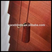 50 mm persianas venecianas de madera fósforo cenefa